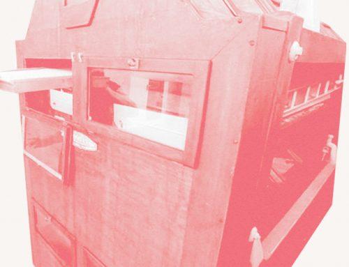 La macchina per pastifici ritrovata in Sicilia