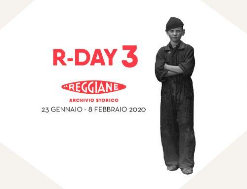 R-DAY 3 Le giornate dell'Archivio Storico delle Reggiane